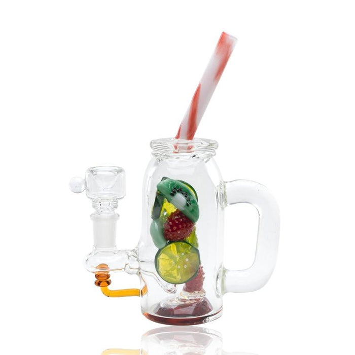 Fruity Detox Mini Water Pipe by Empire Glassworks - 8""