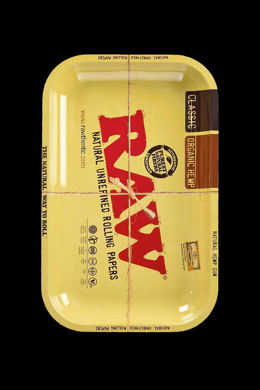Mini - RAW Metal Rolling Tray - RAW -