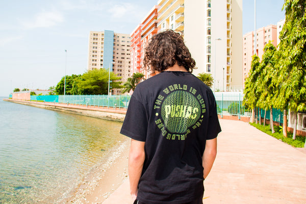 THE PUSHAS GLOBE TEE