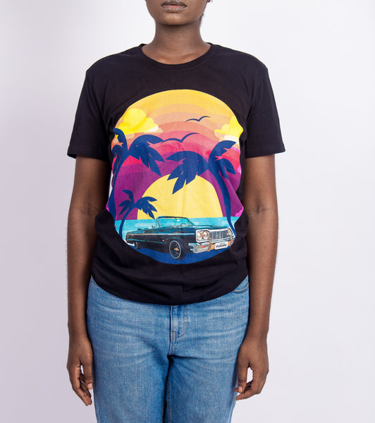 WOMEN'S SUNSET - T-SHIRT
