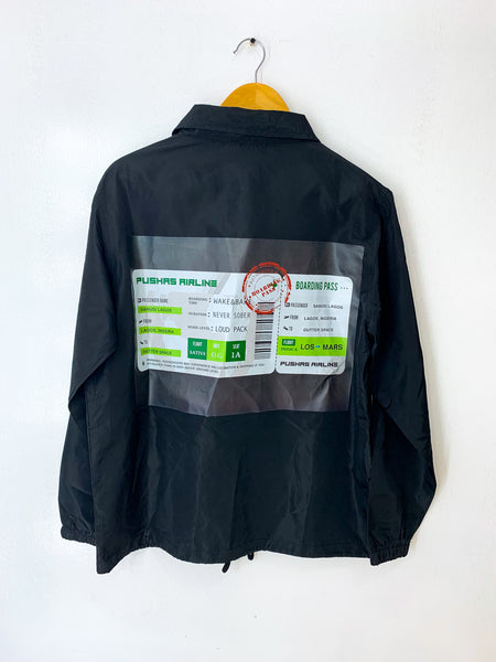 THE BOARDING PASS COACH JACKET