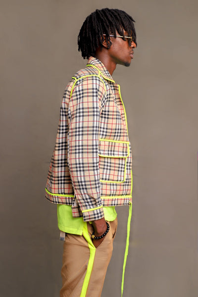 MENS LURID JACKET (NEON)