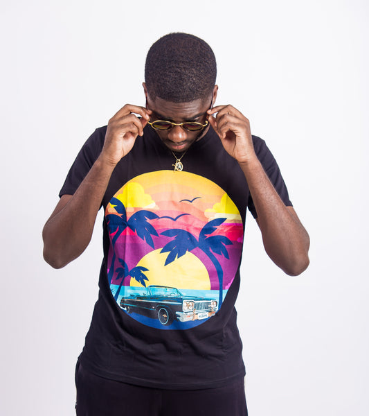 MEN'S SUNSET - T-SHIRT