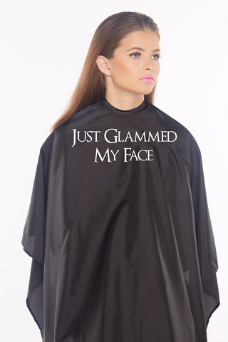 Just Glammed My Face Cape