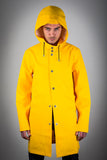 OLD FASHIONED YELLOW RAINCOAT
