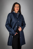 OLD FASHIONED NAVY RAINCOAT