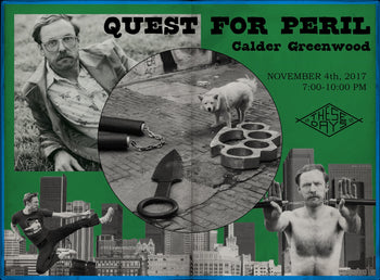 QUEST FOR PERIL | Calder Greenwood