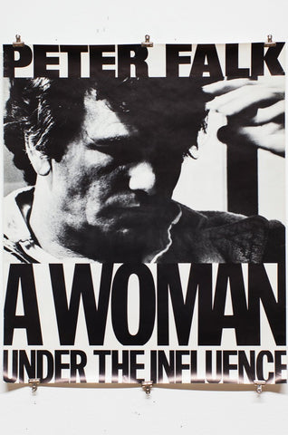 JOHN CASSAVETES | A WOMAN UNDER THE INFLUENCE | Movie Poster
