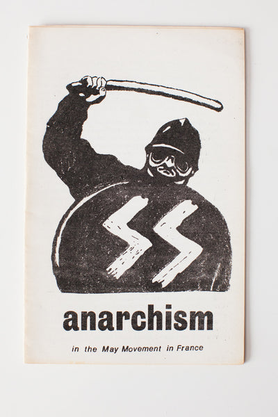 Anarchism in the May Movement in France