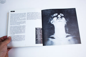 BAUHAUS LYRIC BOOK | Italian and English