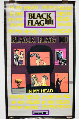 BLACK FLAG | IN MY HEAD | Raymond Pettibon