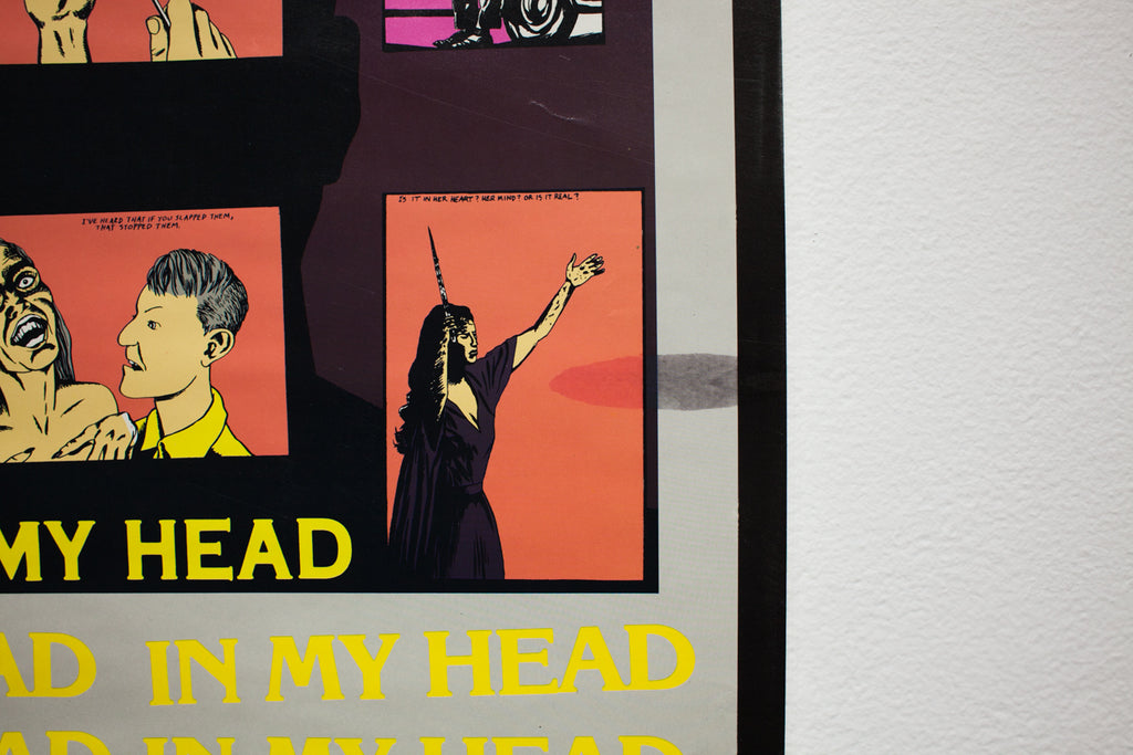 Load image into Gallery viewer, BLACK FLAG | IN MY HEAD | Raymond Pettibon