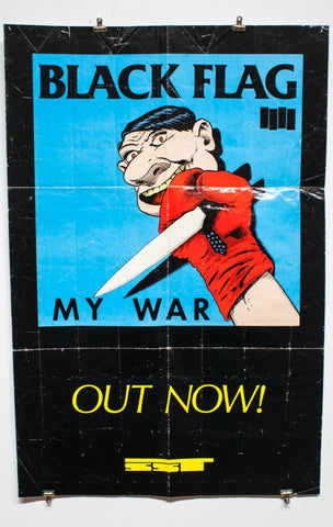 BLACK FLAG | MY WAR | Raymond Pettibon #1