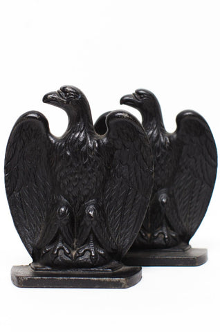 BOOKENDS | American Eagle Cast Iron