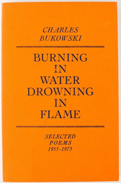 Burning In Water Drowning In Flame