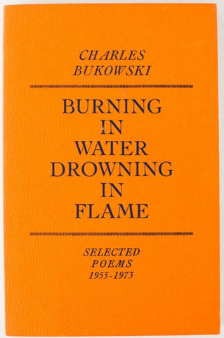 Burning In Water Downing In Flame