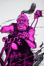 Load image into Gallery viewer, CHOPPED HOG | Vintage Blacklight Poster