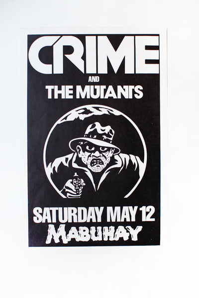 CRIME x THE MUTANTS | Vintage Poster
