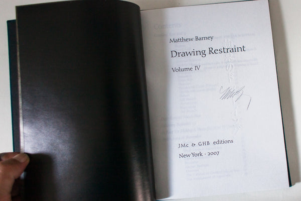 DRAWING RESTRAINT | Vol. 4