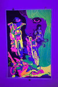 DREAM OF ME | Vintage Blacklight Poster