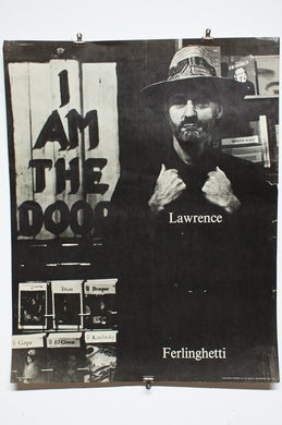 LAWRENCE FERLINGHETTI | I Am The Door poster