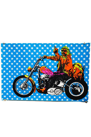 HOPPERFINGER | EASY RIDER | Vintage Blacklight Poster