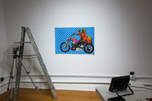 Load image into Gallery viewer, HOPPERFINGER | EASY RIDER | Vintage Blacklight Poster