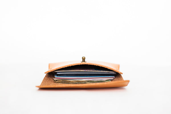 WM Craftworks | Hand Stitched Leather Wallet