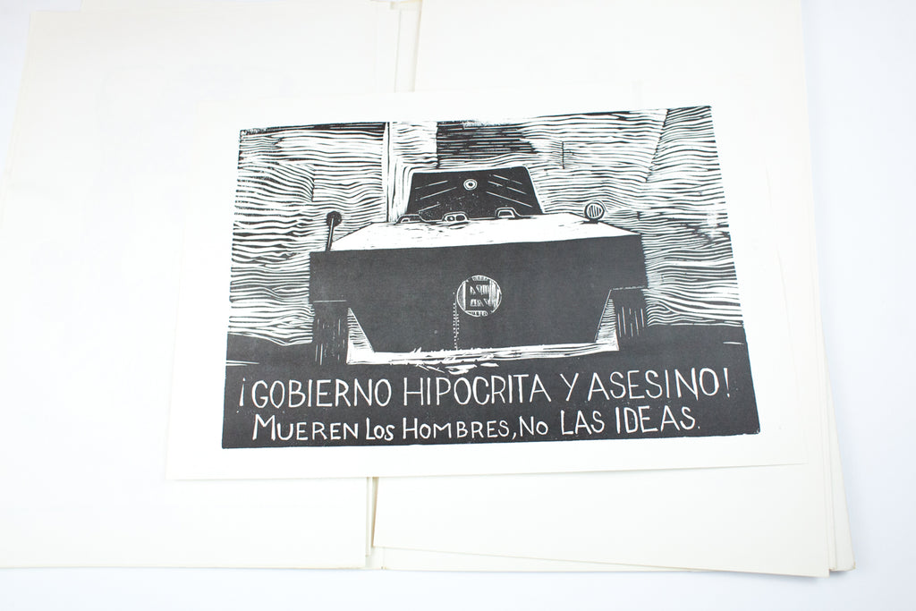 Load image into Gallery viewer, LIBERTAD DE EXPRESION | Mexican Student Posters From The Uprising 1968