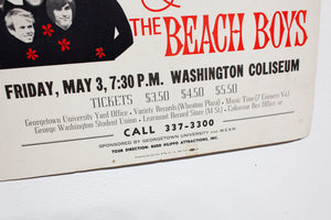 MAHARISHI MAHESH YOGI AND THE BEACH BOYS | Vintage Poster
