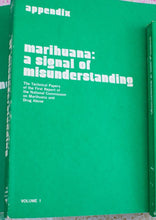 Load image into Gallery viewer, MARIJUANA | A SIGNAL OF MISUNDERSTANDING with Appendix 1 and 2