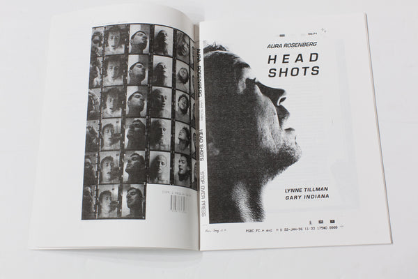 Selected Head Shots | Archive Materials (1991-2017)