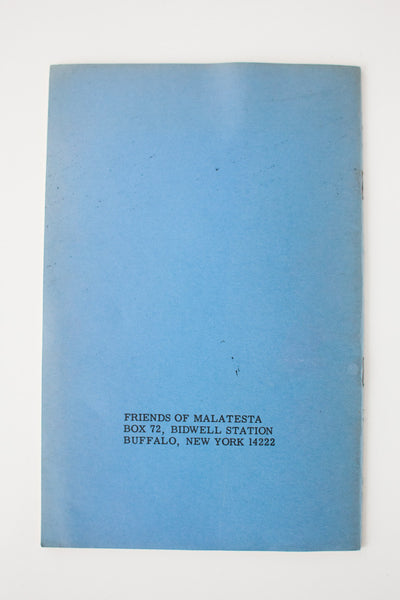 Selected Writings | Malatesta