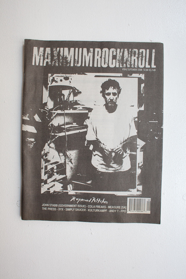 Raymond Pettibon | Maximum Rocknroll No. 304