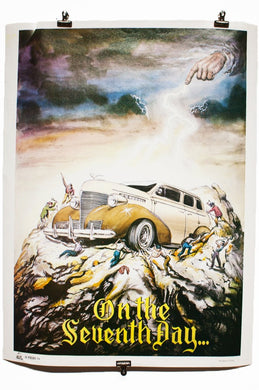 ON THE SEVENTH DAY | Vintage Lowrider Poster
