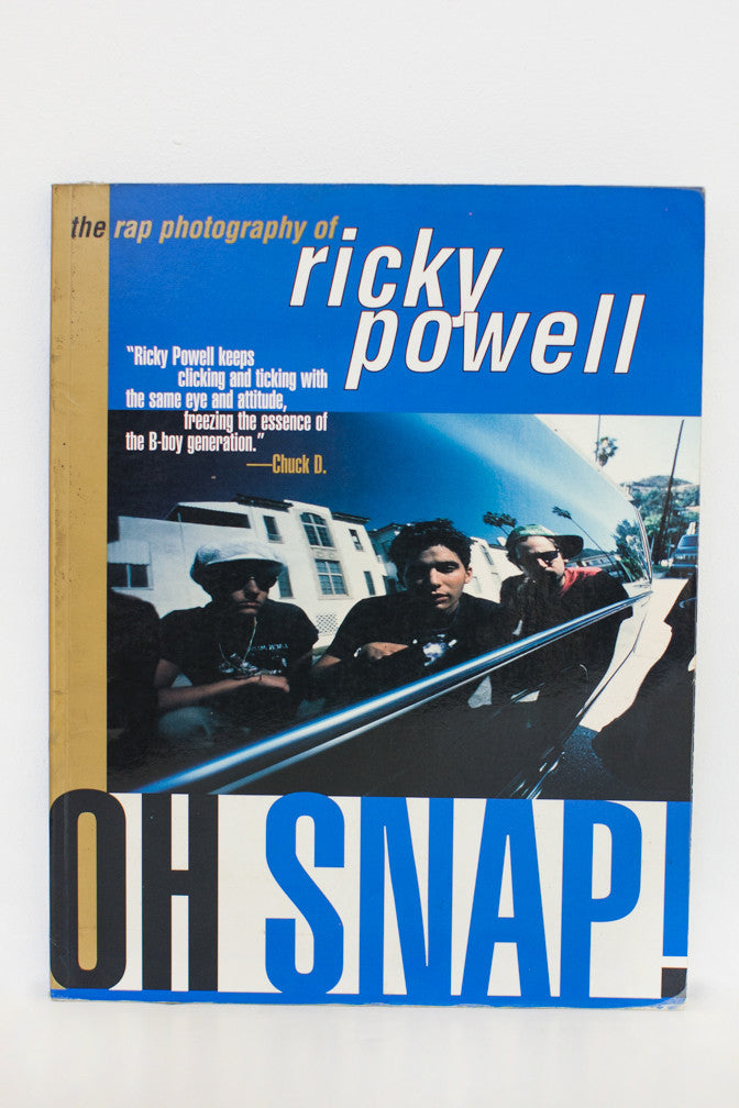 Oh Snap! The Rap Photography of Ricky powell