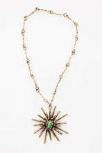Load image into Gallery viewer, PAL KEPENYES | Bronze & Stone Necklace