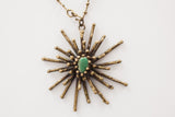 PAL KEPENYES | BRONZE & STONE NECKLACE
