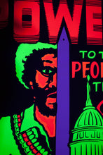 Load image into Gallery viewer, POWER TO THE PEOPLE TIME | Vintage Blacklight Poster