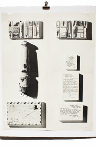 RAY JOHNSON | New York Correspondence School | Vintage Exhibition Poster