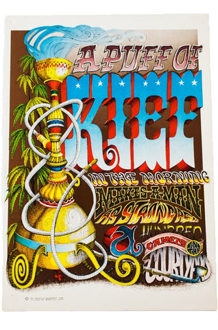 RICK GRIFFIN | A PUFF OF KIEF Poster