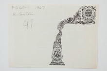 Load image into Gallery viewer, RICK GRIFFIN | BIG BROTHER AND THE HOLDING COMPANY Postcard 01