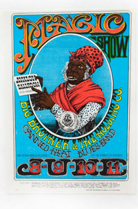 RICK GRIFFIN | BIG BROTHER AND THE HOLDING COMPANY with CANNED HEAT Postcard