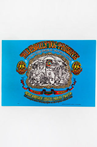 RICK GRIFFIN | BIG BROTHER AND THE HOLDING COMPANY with BLUE CHEER Postcard
