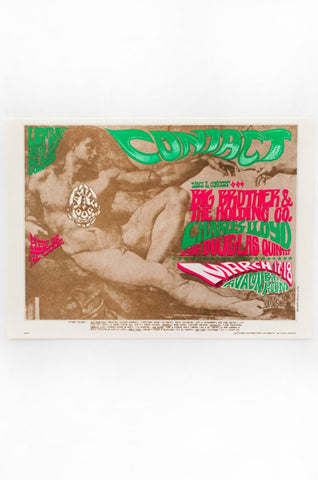 RICK GRIFFIN | BIG BROTHER AND THE HOLDING COMPANY Postcard 02