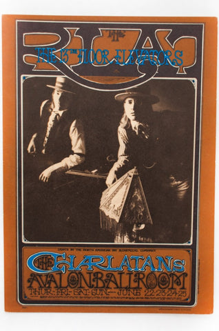 RICK GRIFFIN | CHARLATANS with THE 13th FLOOR ELEVATORS Postcard