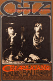 RICK GRIFFIN | CHARLATANS with BLUE CHEER Postcard