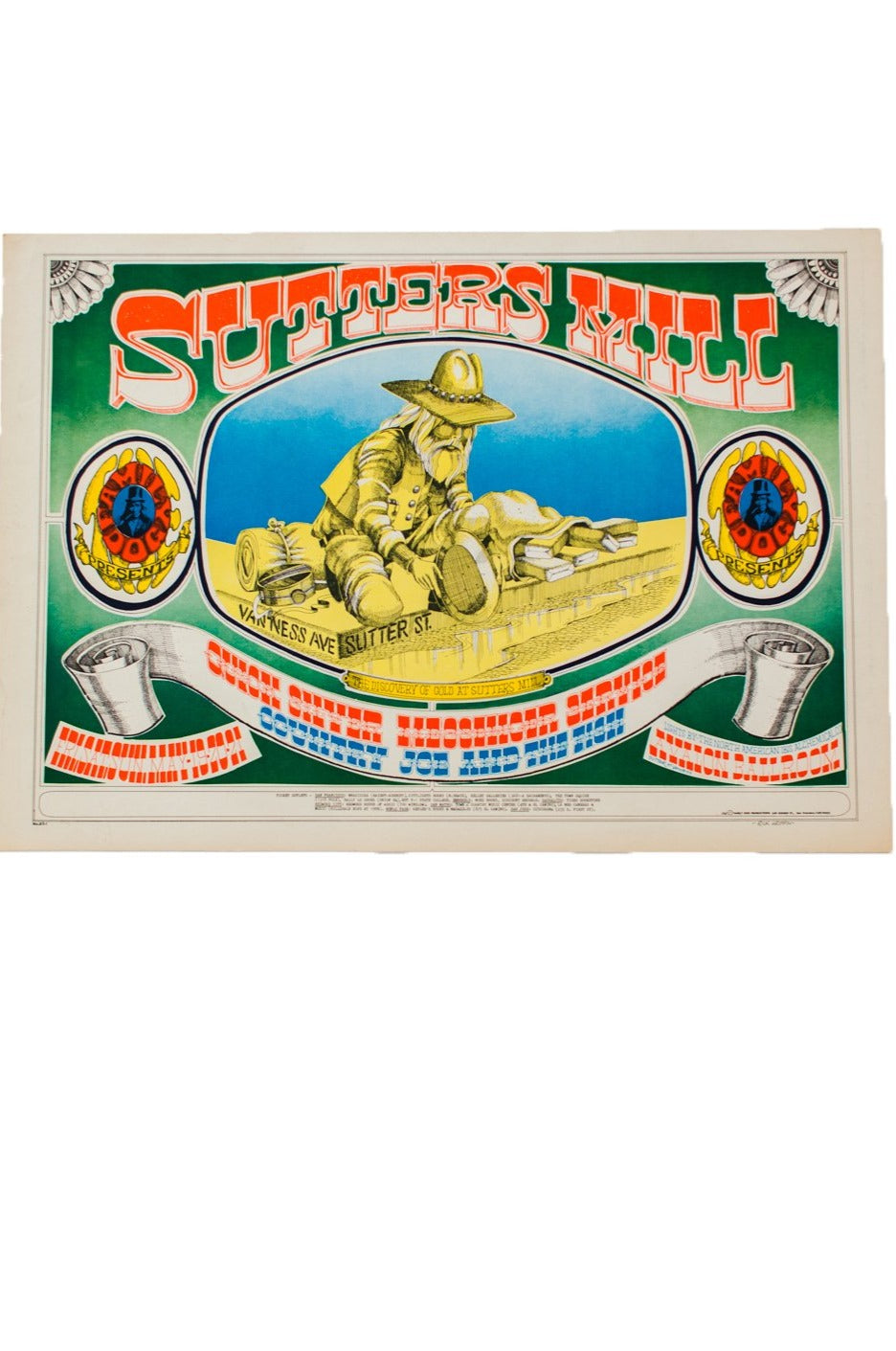 RICK GRIFFIN | SUTTERS MILL Poster