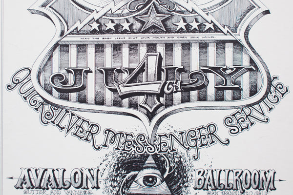 RICK GRIFFIN | QUICKSILVER MESSENGER SERVICE with PHOENIX Poster