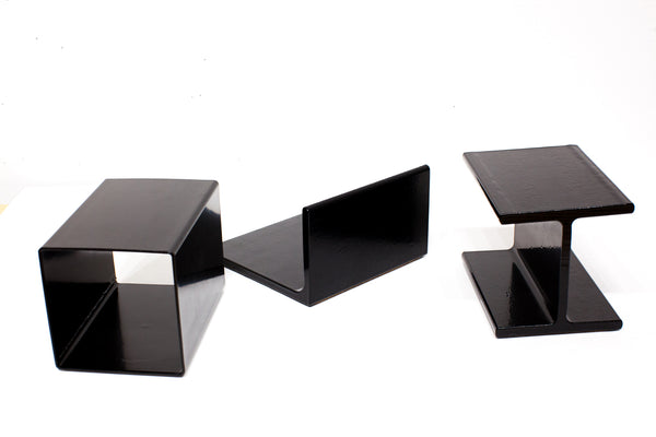 BOOKEND | Steel Architectural  Extrusion | Cube